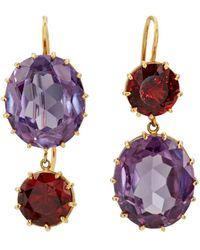 Renee Lewis - Mismatched Mixed-gemstone Double - Lyst