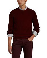 Loro Piana Rib-knit Cashmere Crewneck Jumper - Red