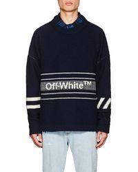 Off-White c/o Virgil Abloh - Logo Pullover - Lyst