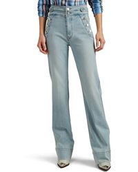 Current/Elliott - Maritime High-rise Flared Jeans - Lyst