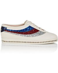 Gucci - Falacer Leather Sneakers - Lyst