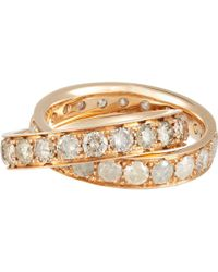 Roberto Marroni Stacked Ring Size 6.5 - White
