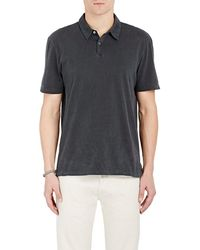 James Perse | Jersey Polo Shirt | Lyst