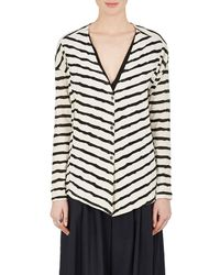 Pas De Calais - Striped Puckered Cotton - Lyst