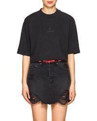 Ksubi - hi Society Cotton Crop T-shirt - Lyst