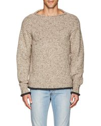 Isaia - Mélange Cashmere Relaxed Sweater - Lyst