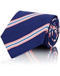 Ralph Lauren Purple Label - Diagonal-striped Silk - Lyst