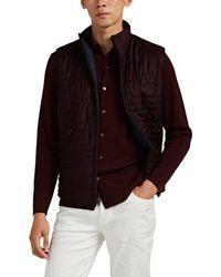 Loro Piana Reversible Wool-silk & Tech-taffeta Vest - Multicolour