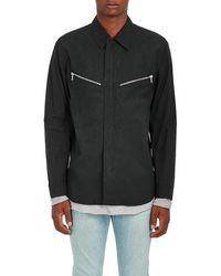 Rag & Bone - Cotton Canvas Flight Shirt Jacket - Lyst