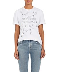 Jimi Roos | Embroidered Cotton T | Lyst