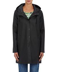 Stutterheim Mosebacke Raincoat - Black