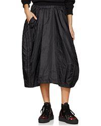 Comme des Garçons - Tech-taffeta Drawstring Skirt - Lyst