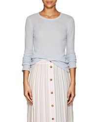 ATM - Heathered Cashmere Jumper - Lyst