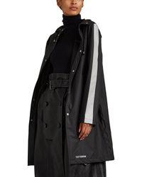 Stutterheim Falun Reflective-trimmed Raincoat - Black