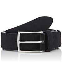 Barneys New York - Suede Belt - Lyst