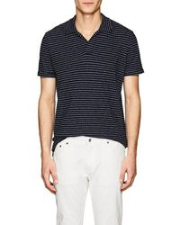 Orlebar Brown - Felix Striped Cotton Polo Shirt - Lyst