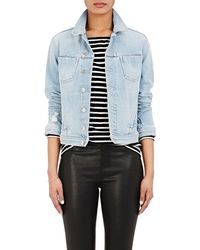L'Agence - Celine Slim Femme Denim Jacket - Lyst