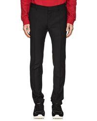 Valentino - Plain-weave Wool-mohair Slim Trousers - Lyst