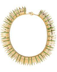 Ileana Makri - Grass Leaves Necklace - Lyst