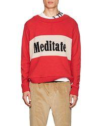 The Elder Statesman - meditate Cashmere Sweater - Lyst