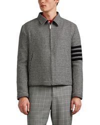 Thom Browne - Houndstooth Wool Jacket - Lyst