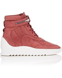 Filling Pieces - Thedrop@barneys: Mid Peak Nubuck Sneakerboots - Lyst