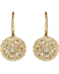 Sidney Garber - Honeycomb Large Drop Earrings - Lyst