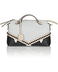 Fendi By The Way Leather Shoulder Bag in Black - Lyst d42d60369e666