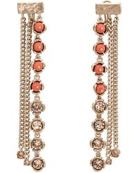Koche - Crystal- & Bead-embellished Drop Earrings - Lyst