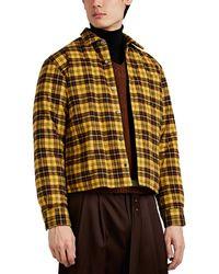 Undercover - Macleod Tartan Cotton Flannel Shirt Jacket - Lyst