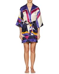 Eres - Artwork Museum Silk Kimono - Lyst