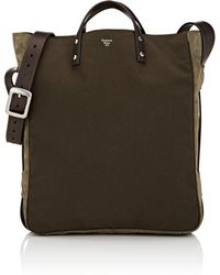 f4fc0bac9d Roberto Cavalli Mens Brown Suede Leather Travel Duffel Bag in Brown ...