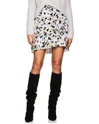 A.L.C. Baxter Silk Crepe Skirt - Black