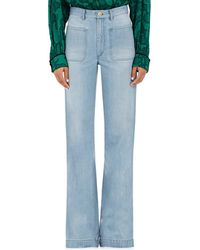 Maison Mayle - Flared Jeans - Lyst