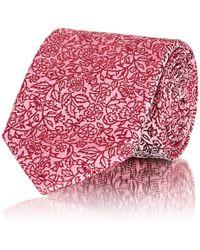 Barneys New York | Floral Silk Satin Necktie | Lyst