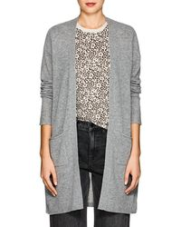 ATM Cashmere Open-front Cardigan - Gray