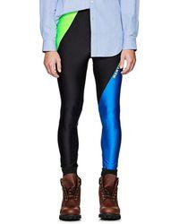 Martine Rose - Logo-print Colorblocked Leggings - Lyst