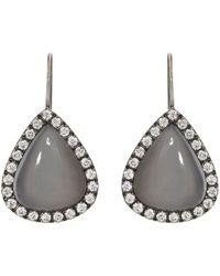 Roberto Marroni | Layered Gemstone Teardrop Earrings | Lyst