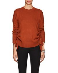 10 Crosby Derek Lam - Ruched Cashmere Sweater - Lyst