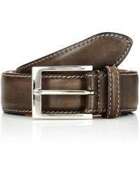Harris - Leather Belt - Lyst