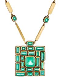Judy Geib - Maze Pendant Necklace - Lyst