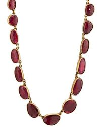 Judy Geib - Ruby Necklace - Lyst