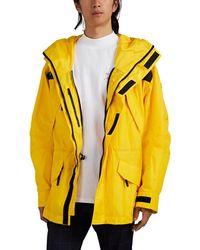 Martine Rose Tech-canvas Oversized Anorak - Yellow
