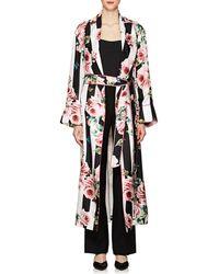 Dolce & Gabbana - Striped & Rose - Lyst