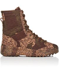 Yeezy - Canvas Military Boots - Lyst
