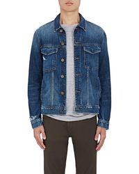 J Brand - Gorn Distressed Denim Jacket - Lyst