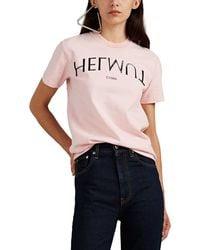 Helmut Lang - l'apocalypse Joyeuse ©1986 Cotton T-shirt - Lyst