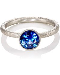 Malcolm Betts - Blue Sapphire Ring - Lyst