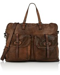 Campomaggi Leather Briefcase - Brown
