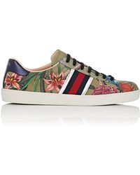 Gucci - New Ace Canvas Sneakers - Lyst